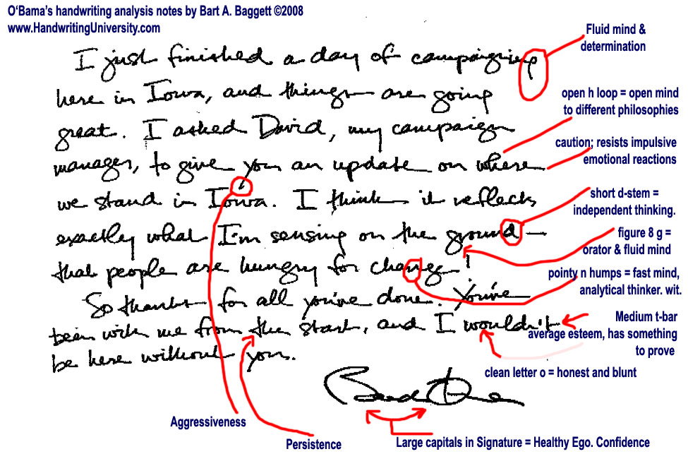 The Truth About Graphology