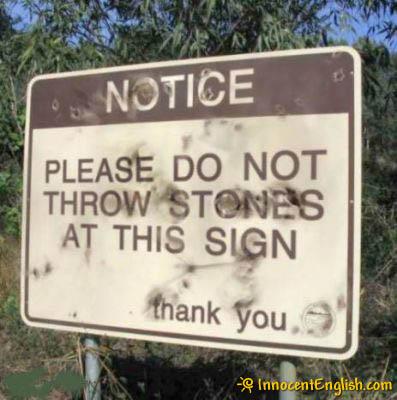 Throw-stones